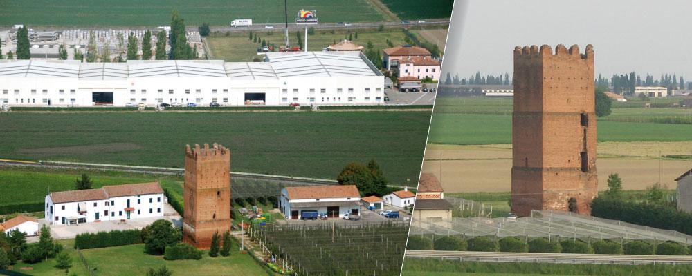 Torre dell'Uccellino di Ferrara restauro